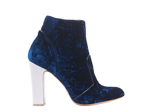 Amelie-navy-blue-flocked-velvet-white-calf-leather