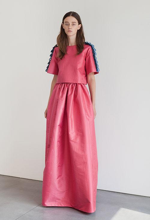 Caterina-Gatta-vestito-rosa