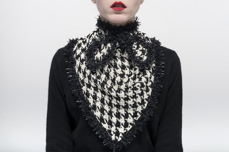Catherine-Osti-houndstooth-collar