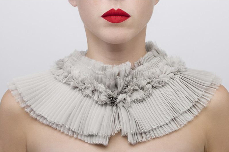 Catherine-Osti-pleated-collar