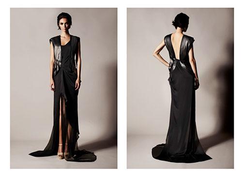DELADA_SS13--long-black-dress