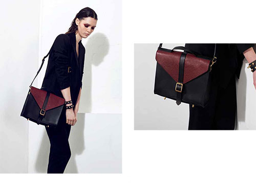 Danielle-Foster-AW13-black-and-burgandy