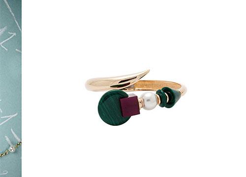 Eshvi-bracelet-green-stone