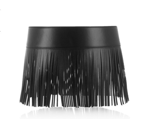 Fringed-leather-waist-belt-by-Alaia
