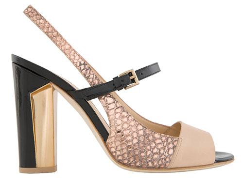 Gremer-metallic-snake-skin-sandal