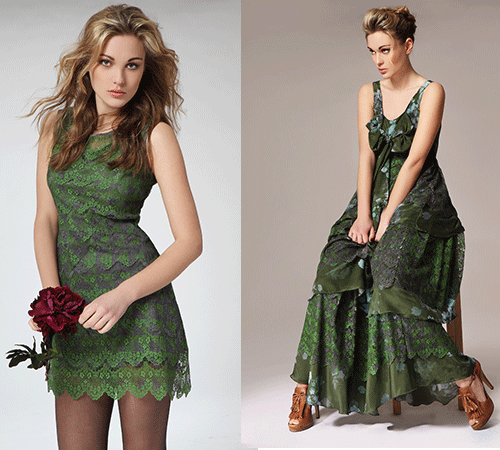 Jelena-Klakina-green-dresses