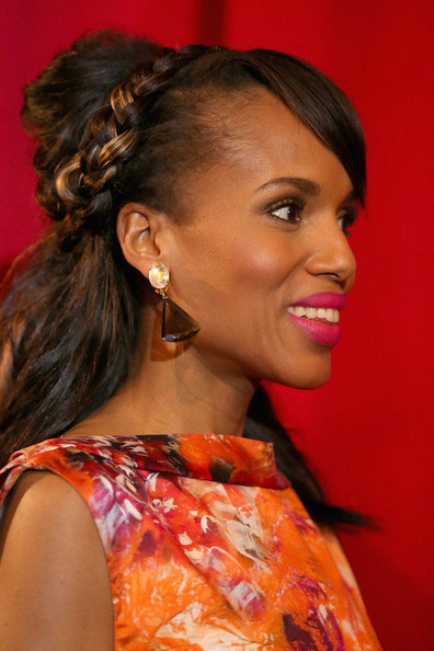 Kerry+Washington+Updos+Braided+Updo