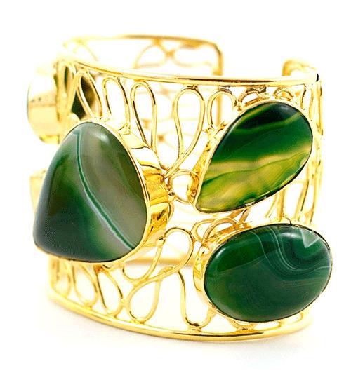 Londali-Gold-Plated-Agate-Bracelet