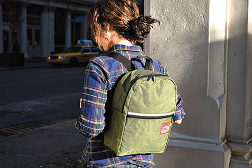 Manhattan-Portage-green-bag
