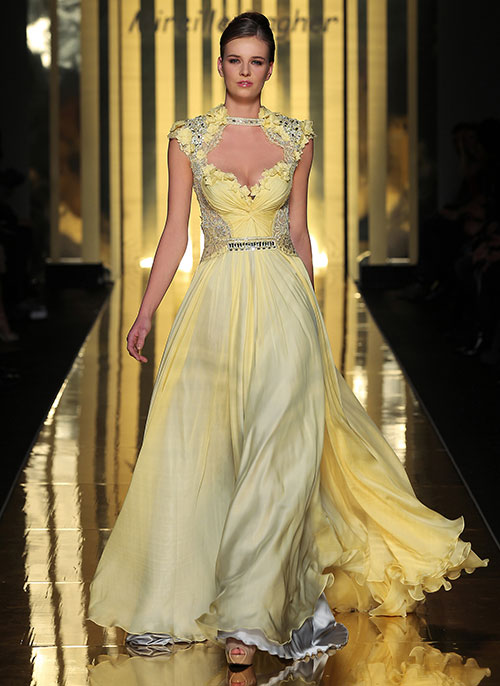 Mireille-Dagher-light-yellow-gown