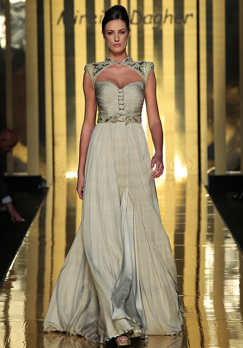 Mireille-Dagher-the-golden-gown