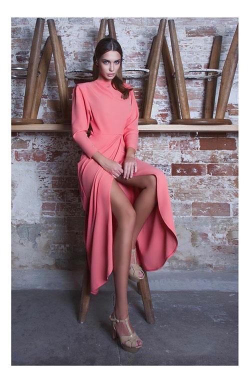 Mme-Epaulette-long-pink-dress