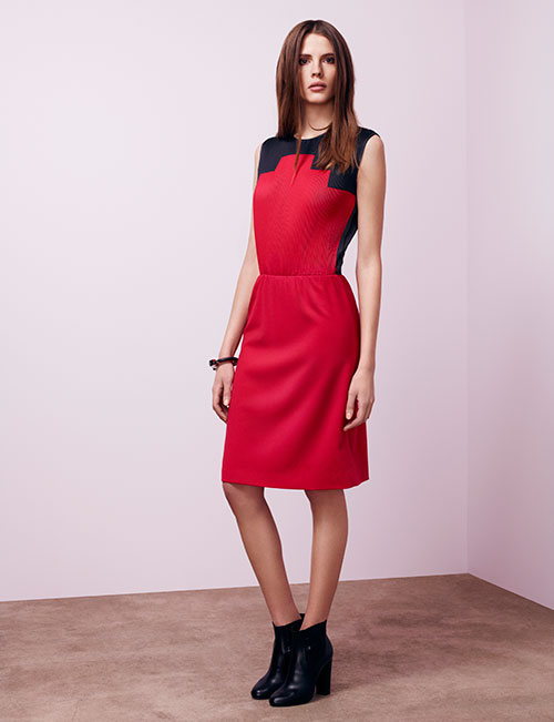 Negarin-Fw13-black-red-dress