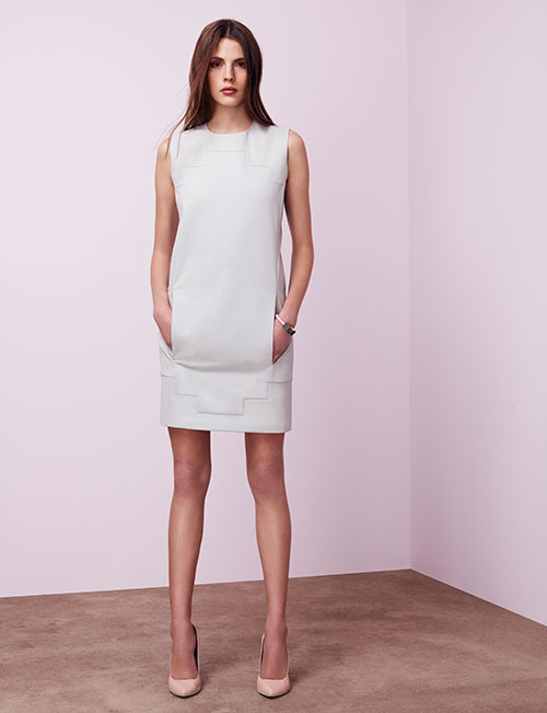 Negarin-Fw13-short-white-dress