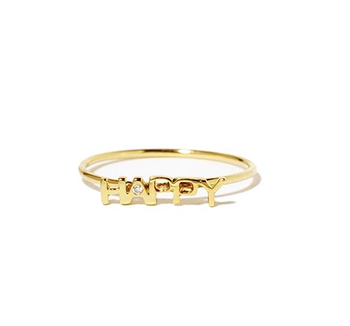 PERLOTA-bague-mini-script-Happy-or-jaune-et-diamant