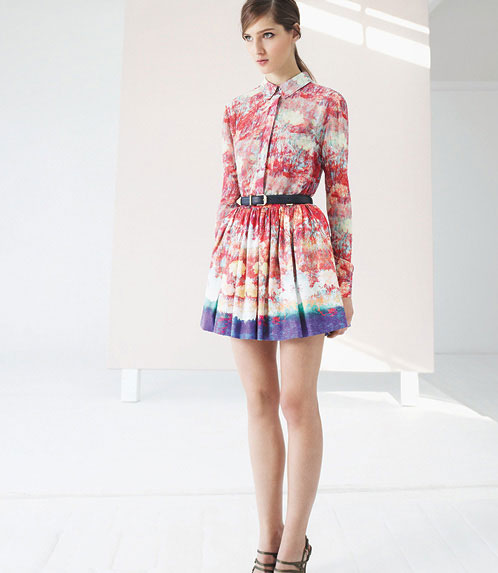 Reiss-colorful-dress