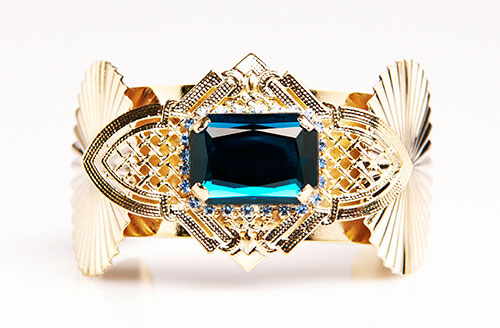 Sciume-cuff-with-blue-stone