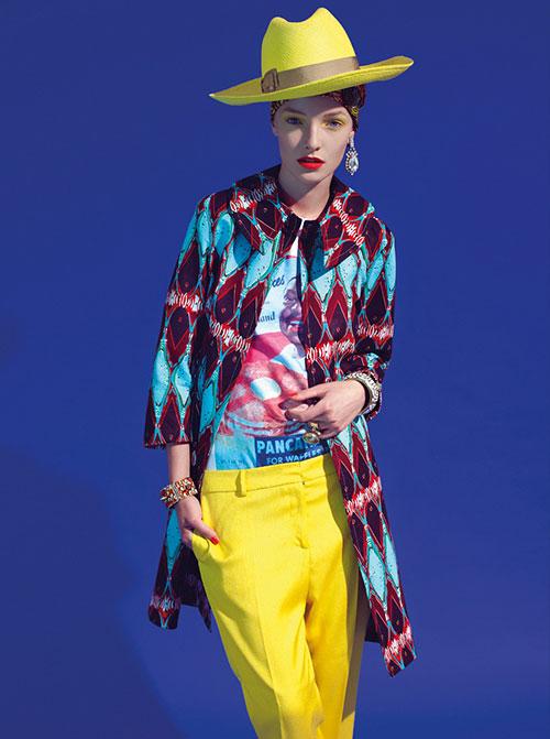 Stella-Jean-SS-2013.yellow-pants