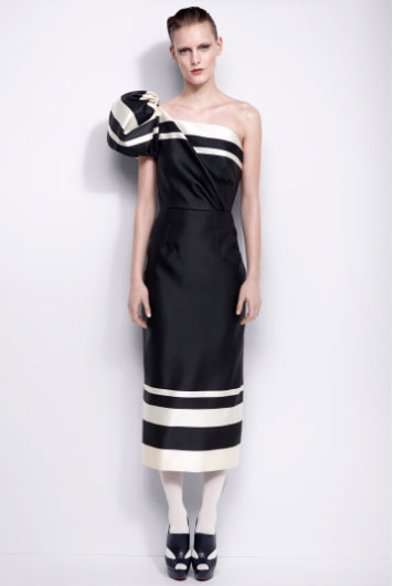 YDE-FW13-black&white-dress